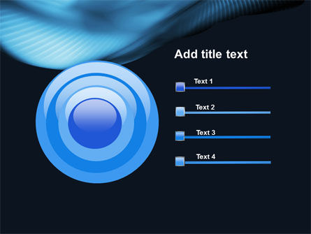 Midnight Blue PowerPoint Template Slide 9