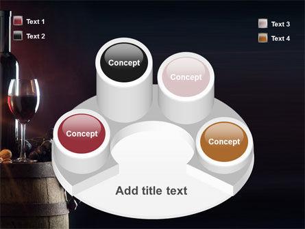Wine Bottle PowerPoint Template Slide 12