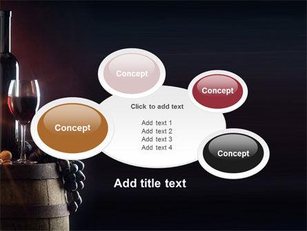 Wine Bottle PowerPoint Template Slide 16