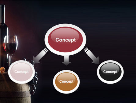 Wine Bottle PowerPoint Template Slide 4