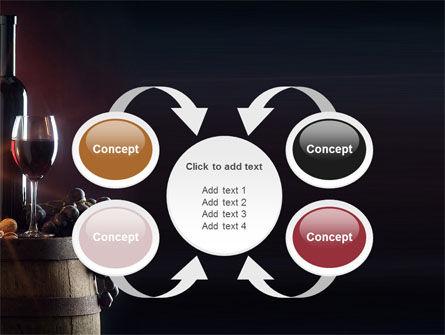 Wine Bottle PowerPoint Template Slide 6