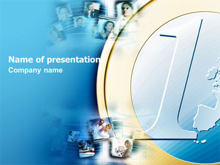 Industry Leader PowerPoint Template, 05721, Financial/Accounting — PoweredTemplate.com