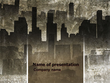 Dark City PowerPoint Template