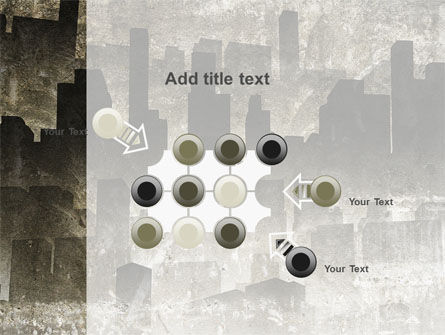 Dark City PowerPoint Template Slide 10