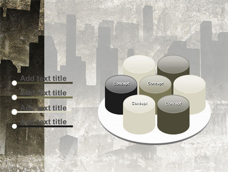 Dark City PowerPoint Template Slide 12