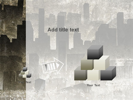 Dark City PowerPoint Template Slide 13