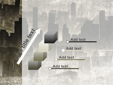 Dark City PowerPoint Template Slide 14