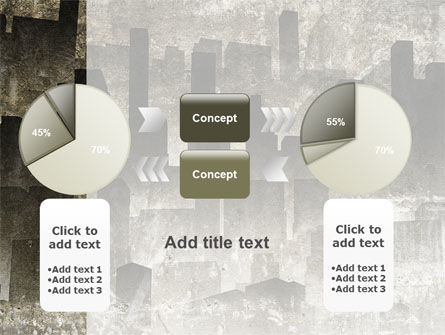Dark City PowerPoint Template Slide 16