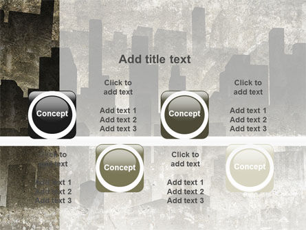 Dark City PowerPoint Template Slide 18