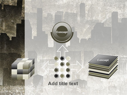 Dark City PowerPoint Template Slide 19