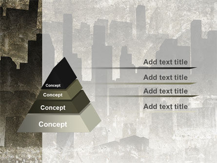 Dark City PowerPoint Template Slide 4