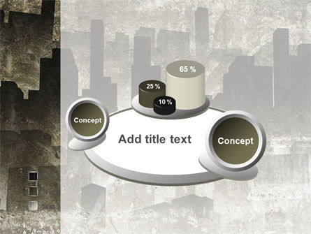 Dark City PowerPoint Template Slide 6