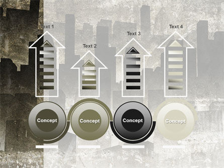 Dark City PowerPoint Template Slide 7
