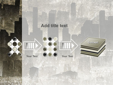 Dark City PowerPoint Template Slide 9