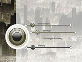 Dark City PowerPoint Template#3