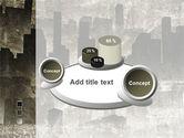 Dark City PowerPoint Template#6