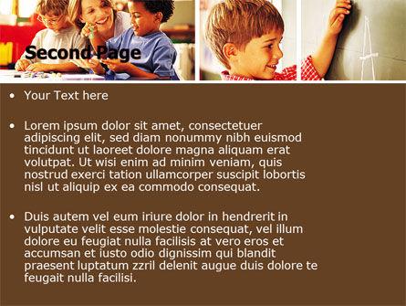 Primary School PowerPoint Template Slide 2