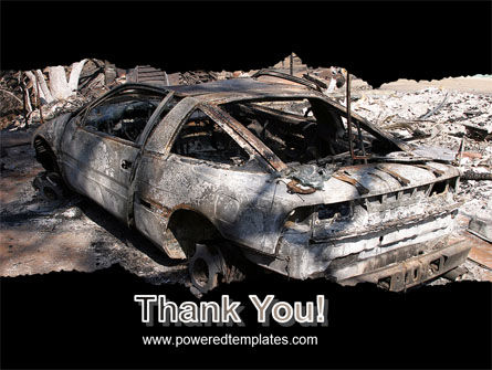 Car Bomb PowerPoint Template Slide 20