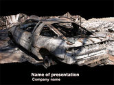 Military: Car Bomb PowerPoint Template #05731