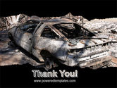 Car Bomb PowerPoint Template#20