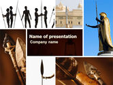 Education & Training: Spear Free PowerPoint Template #05732