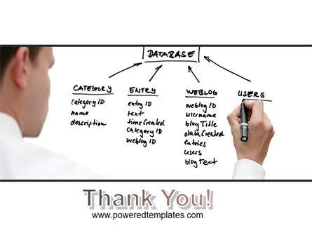 Database PowerPoint Template Slide 20