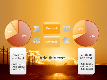 Sunset Road PowerPoint Template Slide 16