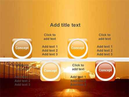 Sunset Road PowerPoint Template Slide 18
