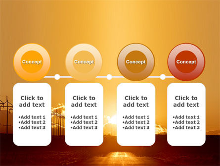 Sunset Road PowerPoint Template Slide 5