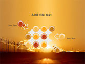 Sunset Road PowerPoint Template#10