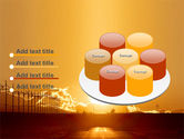 Sunset Road PowerPoint Template#12