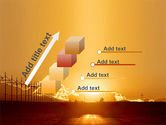 Sunset Road PowerPoint Template#14
