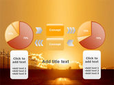 Sunset Road PowerPoint Template#16