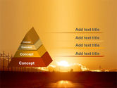 Sunset Road PowerPoint Template#4