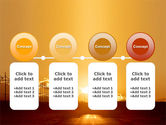 Sunset Road PowerPoint Template#5