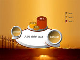 Sunset Road PowerPoint Template#6