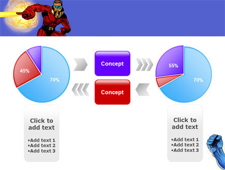 Superheroes PowerPoint Template Slide 11