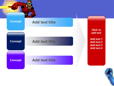 Superheroes PowerPoint Template Slide 12