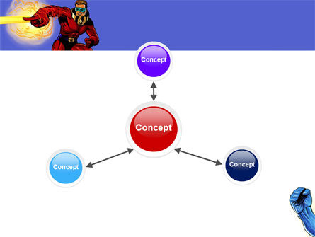 Superheroes PowerPoint Template Slide 14