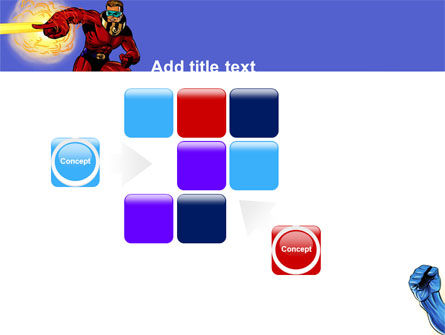 Superheroes PowerPoint Template Slide 16