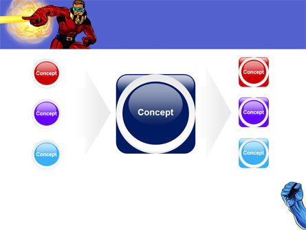 Superheroes PowerPoint Template Slide 17