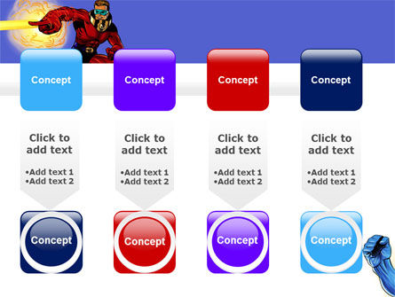 Superheroes PowerPoint Template Slide 18