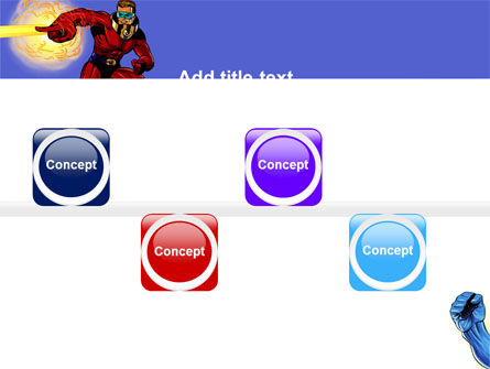 Superheroes PowerPoint Template Slide 19