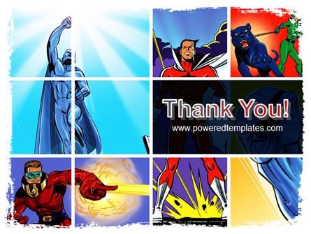 Superheroes PowerPoint Template Slide 20