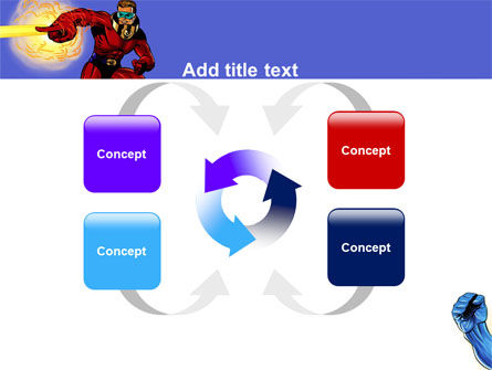 Superheroes PowerPoint Template Slide 6