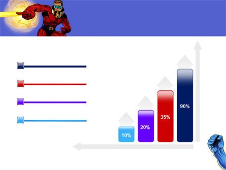 Superheroes PowerPoint Template Slide 8