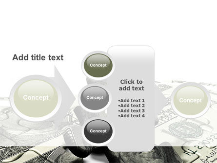 Dollar Bill PowerPoint Template Slide 17