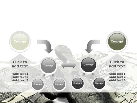Dollar Bill PowerPoint Template Slide 19