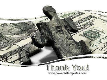 Dollar Bill PowerPoint Template Slide 20