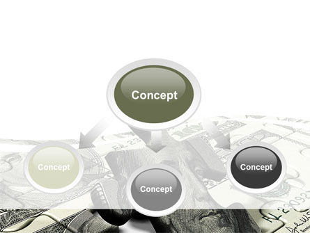 Dollar Bill PowerPoint Template Slide 4